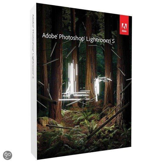 Fotografie programma Adobe lightroom